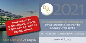 Absage Jahrestagung DGLO 2021